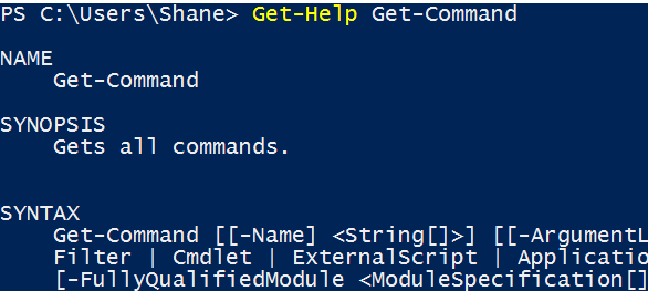 My Function Won't Accept Parameters?Get-Help!
