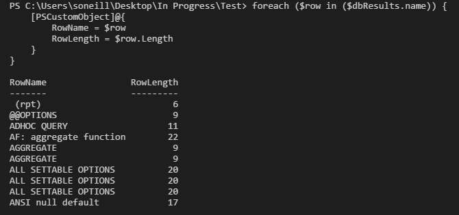 Transact-SQL to Powershell:Substring