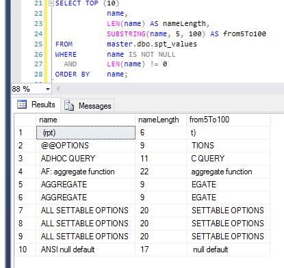 SQLServer_Substring