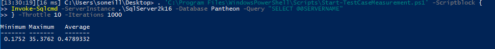 Testing PowerShell Script Speed
