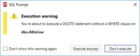 ExecutionWarning