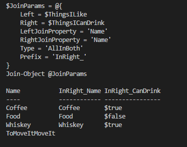 Wait! There are JOINS inPowerShell???