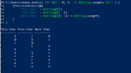 Learning C# methods in PowerShell don't like-1