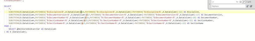 Regex and SQL Server: A Poor Man's Quick Formatter  – No Column Name
